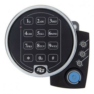 Sargent And Greenleaf S g 6126 142 Digital Keypad Safe Audit Lock W Extension