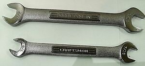 Craftsman Open End Wrenches 3 8 X 7 16 1 2 X 9 16 Set 44572 44579