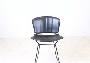 Early Knoll Bertoia Wire Chair W Pad