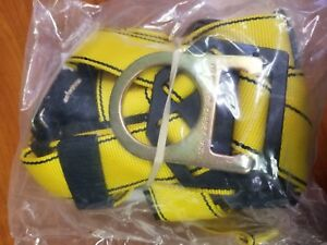 Msa Safety Harness Workman Vest Style Pullover Crossover Rigger 10072487 New