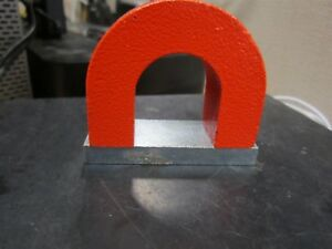General Tools 370 10 10 Ounce Permanent Alnico Red Power Horseshoe Magnet