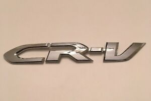 2012 Honda Cr V Crv Rear Trunk Chrome Oem Emblem Badge Logo Symbol Sign 12 13 14