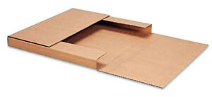 25 Kraft Easy fold 12 1 2 X 12 1 2 X 1 Lp Record Mailers Corrugated Uline S 167