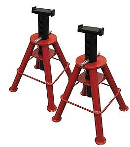 Sunex Tool 1310 10 Ton Medium Height Pin Type Jack Stands Pair