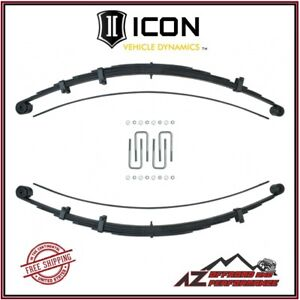 Icon Multi Rate Rxt Leaf Spring Kit Rear Suspension For 2005 2020 Toyota Tacoma