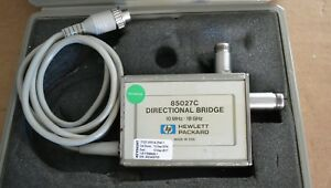 Agilent Keysight 85027c Directional Bridge For Scalar Analyzer 10mhz 18ghz Good
