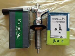Draft Beer Faucet Self Closing one Complete Set