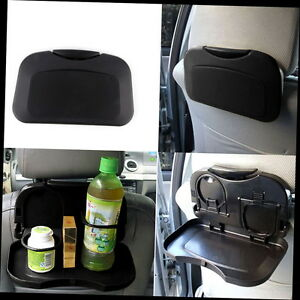 New Folding Auto Car Back Seat Table Drink Food Cup Tray Holder Stand Desk X5