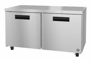 Hoshizaki Crmr60 01 Refrigerator Two Section Undercounter Stainless Doors Wit