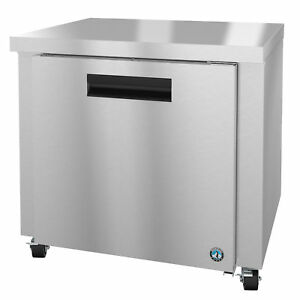 Hoshizaki Crmr36 Refrigerator Single Section Undercounter Stainless Door