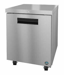 Hoshizaki Crmr27 01 Refrigerator Single Section Undercounter Stainless Door W