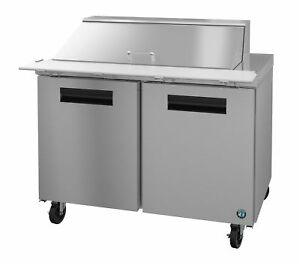 Hoshizaki Crmr48 18m Refrigerator Two Section Mega Top Prep Table Stainless D