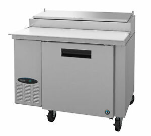 Hoshizaki Cpt46 Refrigerator Single Section Pizza Prep Table Stainless Door
