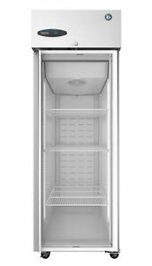 Hoshizaki Cr1s fge Refrigerator Single Section Upright Full Glass Door