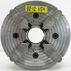 Buck 12 4 Jaw Independent Manual Chuck L 1 Mount 1312