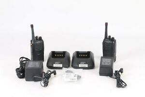 Kenwood Tk 3160 Uhf Fm Transceiver 2 Way Radio Good Condition