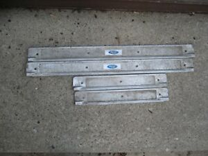 1968 Ford Falcon 4 Dr Oem Original Door Sill Protector Front Rear Left Right
