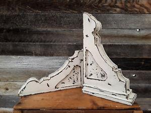 Wooden Corbels Sconces Distressed Corbels White Corbels Wall Sconces