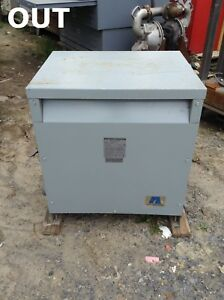 Acme Electric T 1 53020 3 50kva Outdoor Transformer 240 480v 120 240v 60hz 1ph