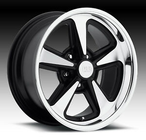 Cpp Us Mags U109 Bandit Wheels 17x8 Fr 18x9 Rr Fits Chevy Chevelle Ss Impala