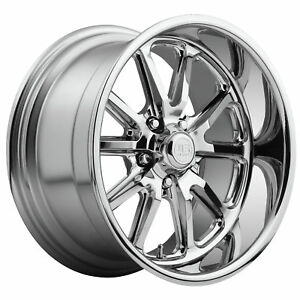 Cpp Us Mags U110 Rambler Wheels 17x8 Fr 18x8 Rr Fits Ford Mustang Gt Shelby