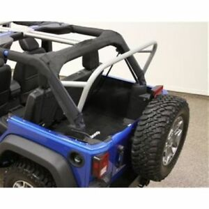 Rock Hard 4x4 Parts Rh 1032 3rd Row Sport Cage For 2007 2018 Jeep Wrangler Jk