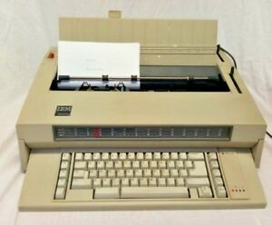 Vintage Ibm Wheelwriter 3 Electronic Typewriter Tested Good Working