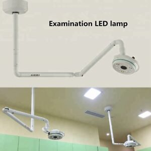 Dental 36w Ceiling Mounted Led Surgical Shadowless Lamp Cold Light 800mm