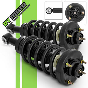 Pair 2 Rear Complete Strut Coil Spring For 2003 2006 Ford Expedition Navigator