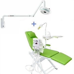 36w Dental Wall Mounting Led Surgical Shadowless Lamp Dental Chair Green 4h