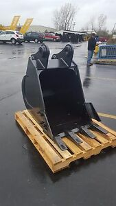 New 30 Excavator Bucket For A Hyundai R160 7 With Pins