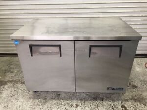 48 2 Door Under Counter Refrigerator Cooler True Tuc 48 8366 Commercial Nsf