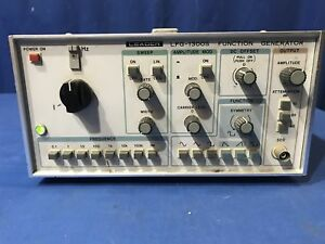 Leader Lfg 1300s Function Generator 0 002hz To 2 0mhz Range Free Shipping