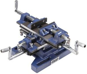 5 In Rugged Cast Iron Drill Press Milling Vise