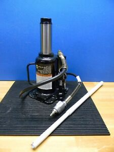 Omega Lift Equipment 20 Ton Hydraulic Air Actuated Bottle Jack 18204c