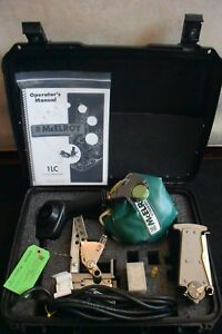 Mcelroy Model 1lc Fusion Welder Set Facer Heater Assemble Machine Used Few Times