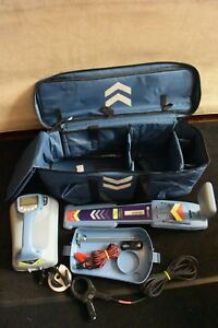 Radiodetection Locater Set Model Rd7000 Tl With Tx10 Transmitter Clean