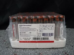 bd Vacutainer Sst Blood Collection Tubes 367988 total Of 1 000 Tubes