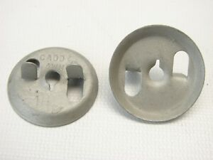 50 Caddy 4wn Twist on Fixture Support Thread Impression Washer Wing Nuts t75