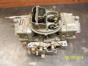 Holley 4150 Double Pumper 750 Cfm 47792 Early Pre Emisions 68 75 Good Condition