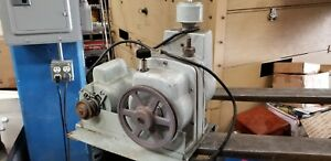 Hyvac28 1hp Vacuum Pump positive Displacement electric Motor Driven Rotary
