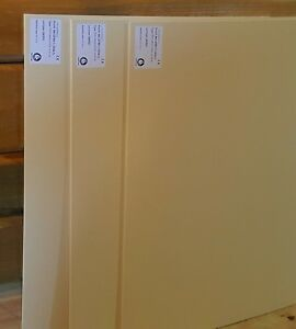 5 Pack High Grade Thermoplastic Ncm Preferred Smooth Sheet 1 8 X 24 x18