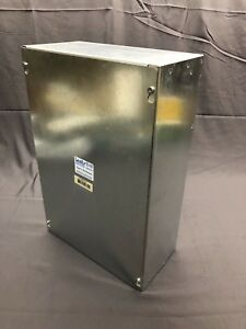 Unity 12186scg 18 x12 x6 Electrical Enclosure Galvanized Steel Junction Box New