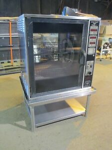 Henny Penny Scr 6 Rotisserie Oven Electric W Stand Baskets Grocery Commercial