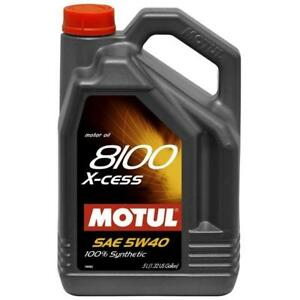 Motul Usa 102870 Engine Oil 8100 X Cess Synthetic 5w40 5l