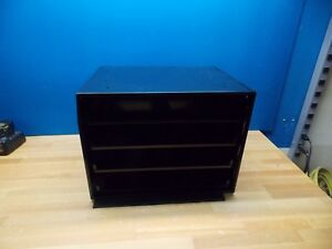 Durham Slide Rack Cabinet 15 X 20 X 15 3 4 Black Finish Model 303 08 d985