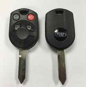 4 Button Ford 40 Bit Remote Head Key Keyless Entry Remote Key Transmitter