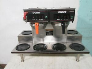 bunn H d Commercial pour over automatic S s Coffee Brewer W 6 Warmers