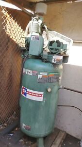 Champion 5 Hp 80 Gallon Vertical Air Compressor Model Vr5 8 3 Phase San Jose Ca