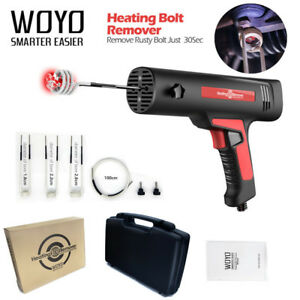 Woyo Car Metal Bolt Rust Remover Induction Heater Removal Cleaner Diy Tool Kit